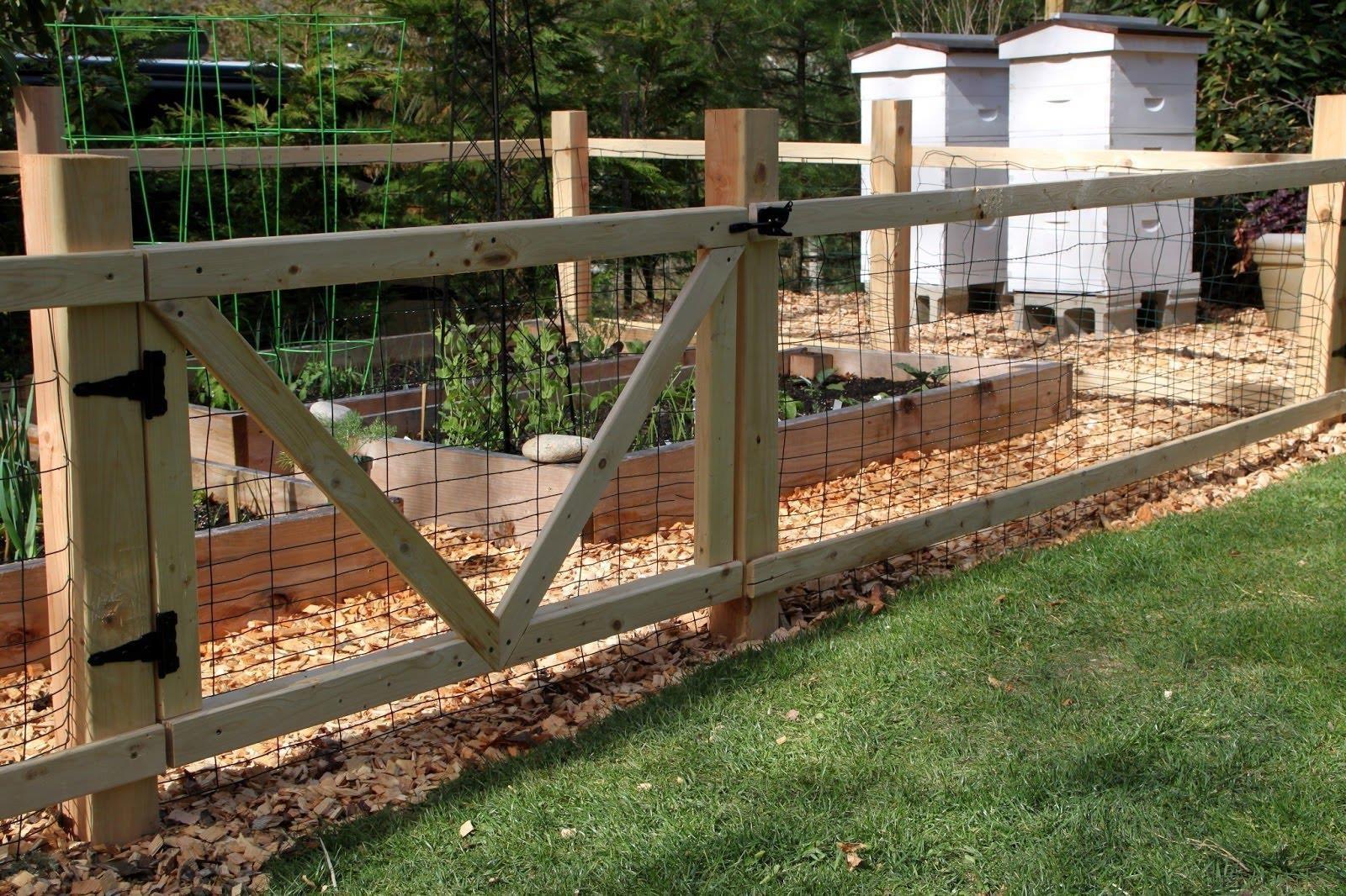 Diy Garden Fences And Gates - DIY Ideas